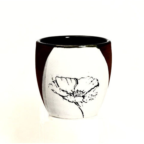 RED CLAY WINE CUP - Side Street Studio