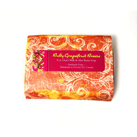 SARABANDE RUBY GRAPEFRUIT BREEZE SOAP - Side Street Studio