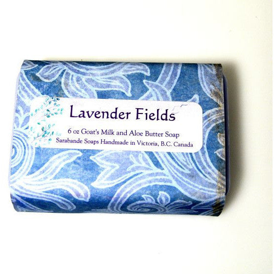 SARABANDE LAVENDER FIELDS SOAP - Side Street Studio