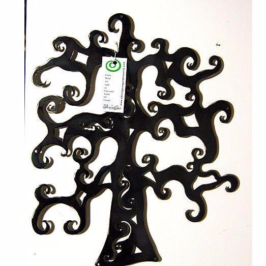 "STEEL OAK TREE 16"" - Side Street Studio"