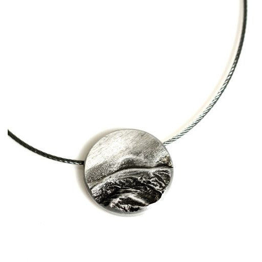 WEST COAST STORM PENDANT - SILVER - Side Street Studio