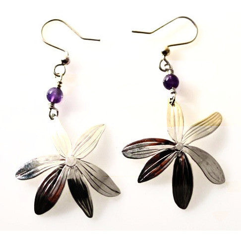 STERLING SILVER CAMAS EARRINGS - Side Street Studio