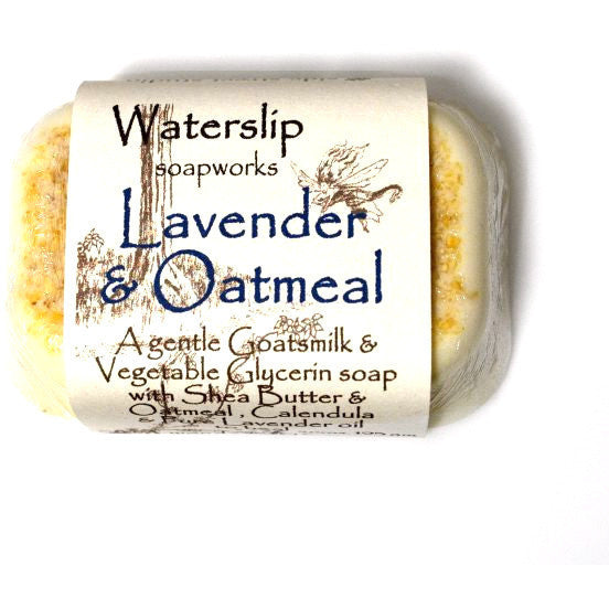 LAVENDER AND OATMEAL SOAP BAR - Side Street Studio
