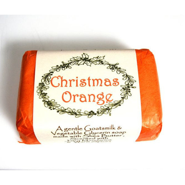 CHRISTMAS ORANGE SOAP - Side Street Studio