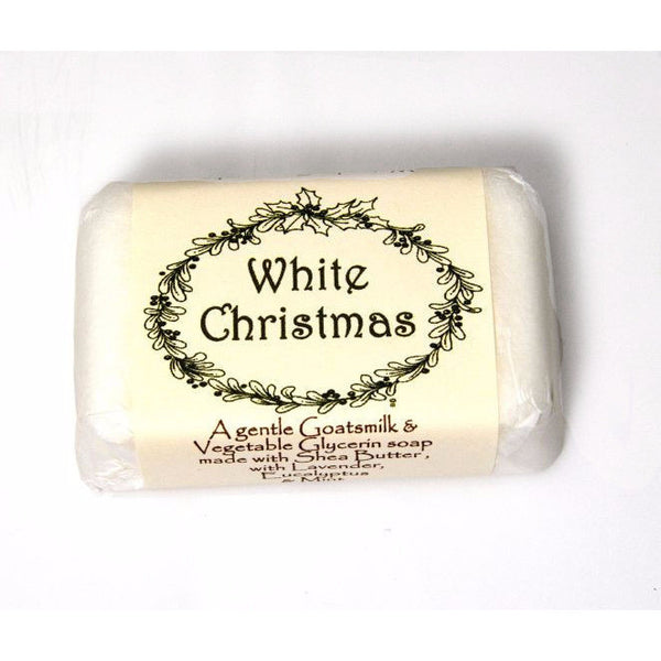 WHITE CHRISTMAS SOAP - Side Street Studio