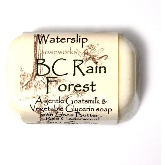 B.C. RAINFOREST SOAP - Side Street Studio
