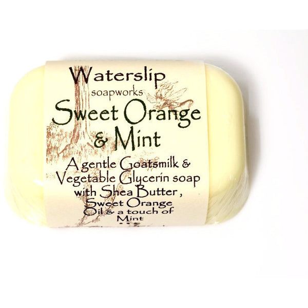 SWEET ORANGE & MINT SOAP - Side Street Studio