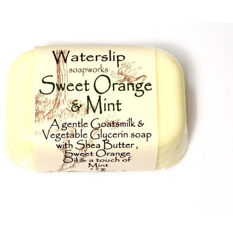 SWEET ORANGE AND MINT SOAP - Side Street Studio