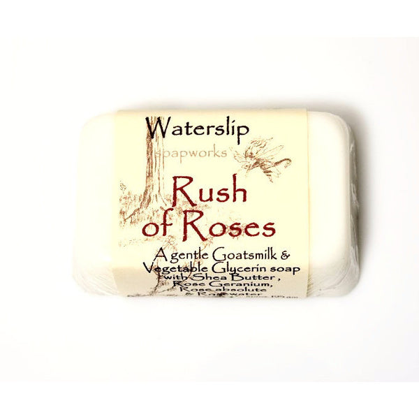 RUSH OF ROSES SOAP - Side Street Studio