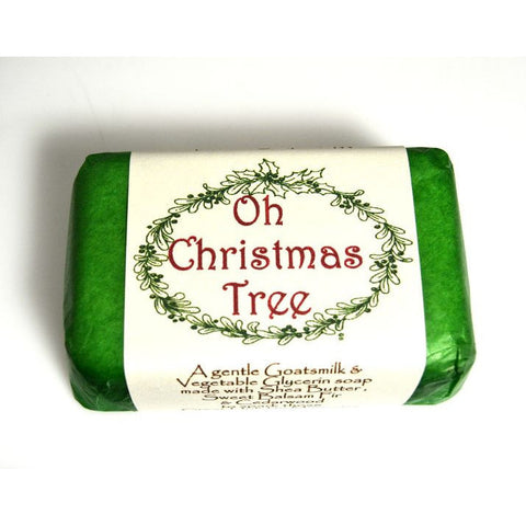 OH CHRISTMAS TREE NATURAL SOAP - Side Street Studio