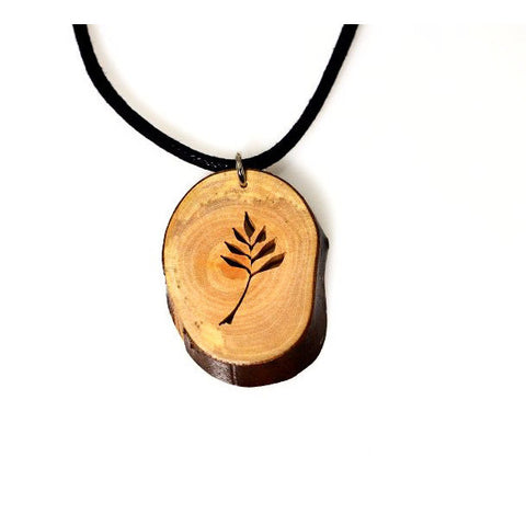 OLIVE BRANCH ARBUTUS NECKLACE - Side Street Studio