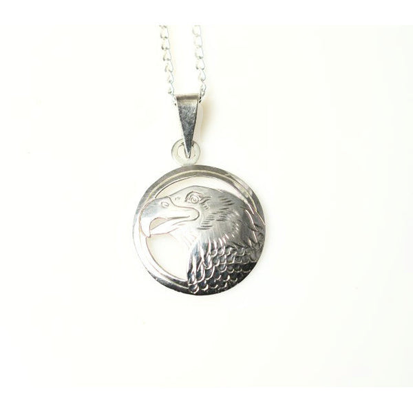 STERLING SILVER EAGLE PENDANT - Side Street Studio