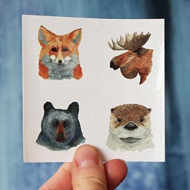 Saylormade Sticker Collection, Animal Portrait Set 1