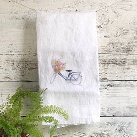 Vintage Bicycle Tea Towels by Emma Pyle