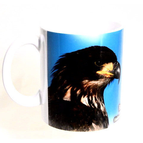 BALD EAGLE PRINTED MUG - Side Street Studio  - 1