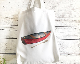 CanoeTote Bag by Emma Pyle Art