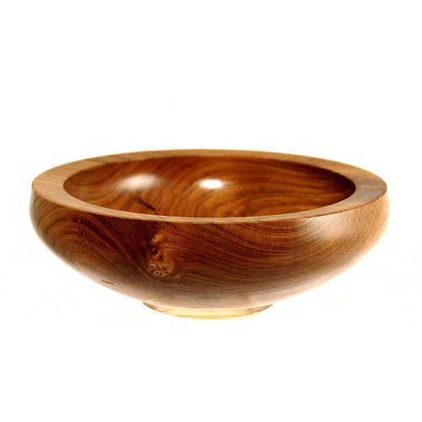 LABURNUM WOOD BOWL - Side Street Studio