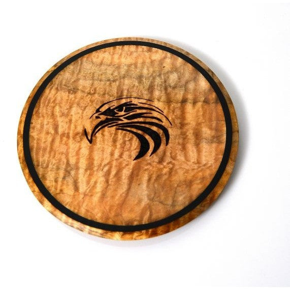 EAGLE DESIGN MAPLE PLATE OR TRIVET