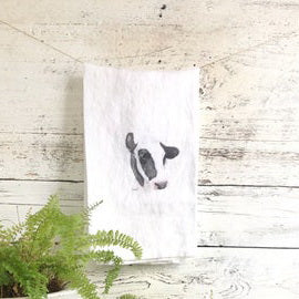 HOLSTEIN TEA TOWELS BY EMMA PYLE ART