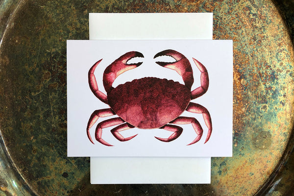 Crab Greeting Card