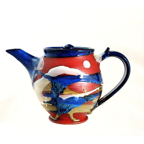 MEDIUM TEAPOT - TERRACOTTA - Side Street Studio
