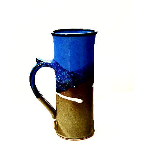 SPECIAL COFFEE SAGE AND BLUE MUG - Side Street Studio