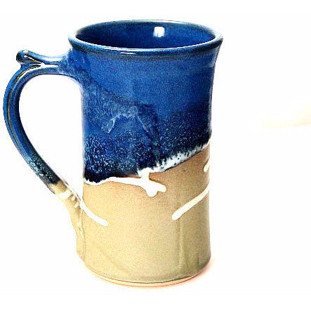 STRAIGHT SAGE AND  BLUE MUG - Side Street Studio