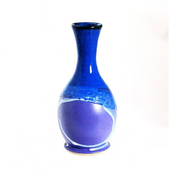 BUD VASE - PURPLE AND BLUE - Side Street Studio