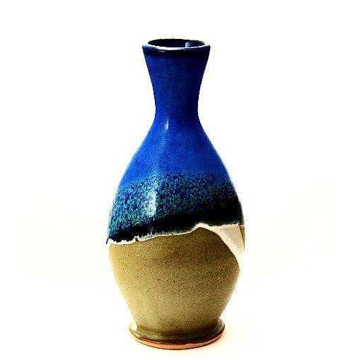 BUD VASE - SAGE AND BLUE - Side Street Studio