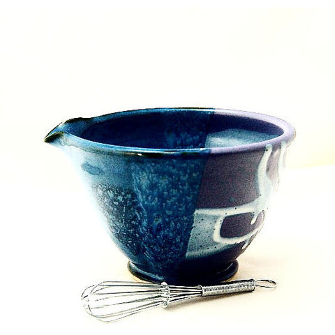 WHISK BOWL - PURPLE AND BLUE - Side Street Studio