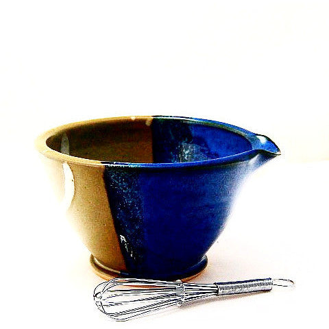 WHISK BOWL - SAGE & BLUE - Side Street Studio