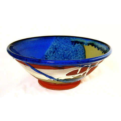 MEDIUM SERVING BOWL - TERRACOTTA - Side Street Studio