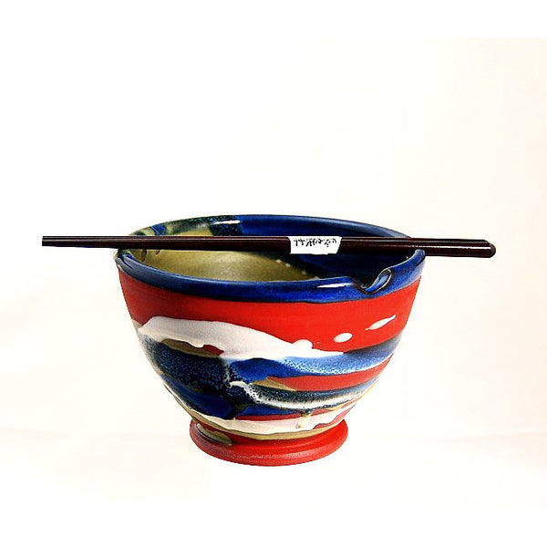 CHOPSTICK BOWL TERRACOTTA - Side Street Studio