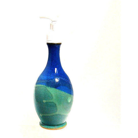 SOAP PUMP DISPENSER - AQUA - Side Street Studio