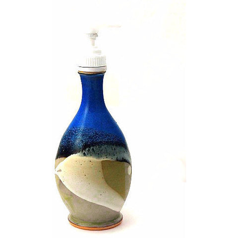 SOAP PUMP DISPENSER - SAGE AND BLUE - Side Street Studio