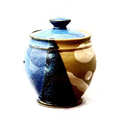 GARLIC POT - SAGE & BLUE - Side Street Studio