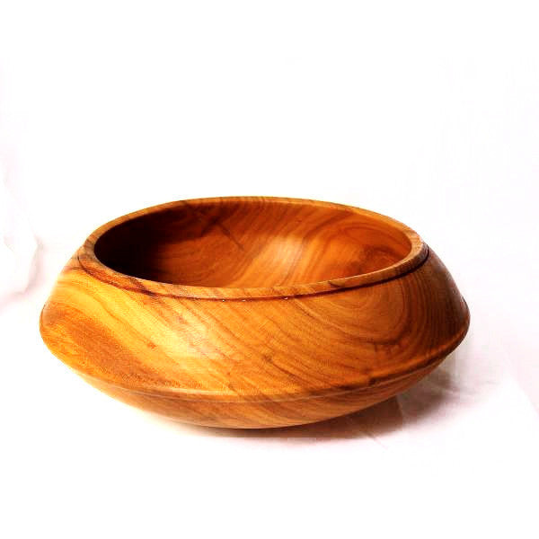 CHERRY WOOD BOWL - Side Street Studio