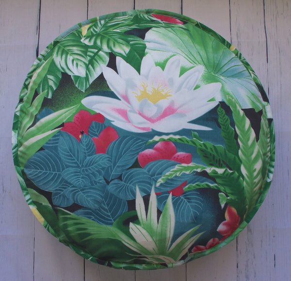 "24"" JUNGLE-O ROUND FLOOR POUF"
