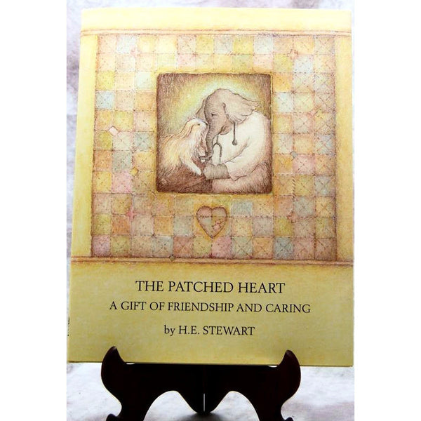 PATCHED HEART BOOK - Side Street Studio