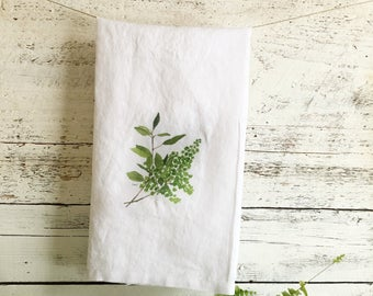 Fern Tea Towels by Emma Pyle