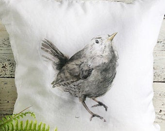 Wren Pillow Cover by Emma Pyle