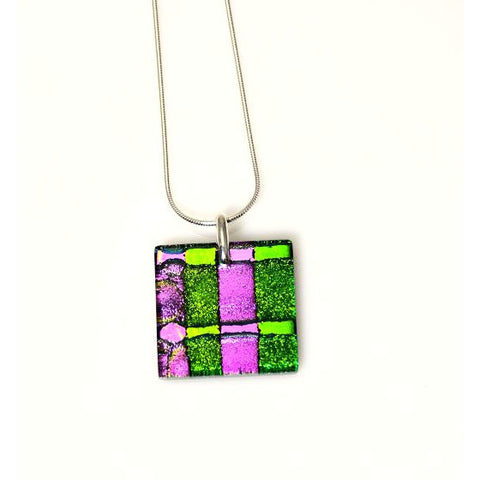 DICHROIC GLASS PENDANT - Side Street Studio