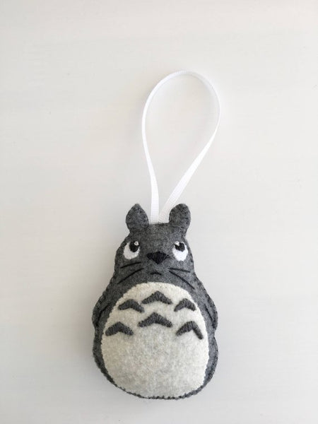 Totoro Hand Embroidered Ornament