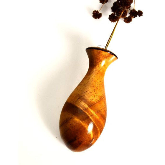 Pacific Yew Wood Magnetic Vase - Side Street Studio