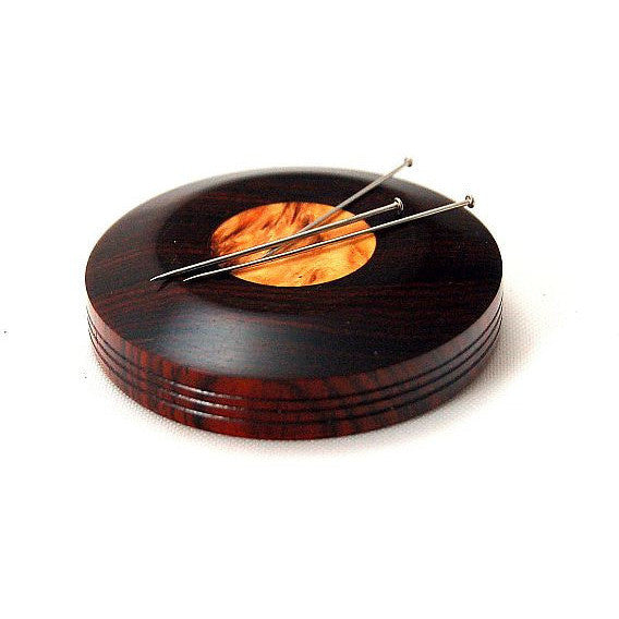 Large Magnetic Pin Holder, Cocobolo Rosewood - Side Street Studio