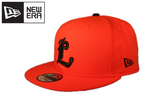 Majors New Era IBL Orange Black 9FIFTY Snapback Cap