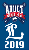 2019 Adult Season Pass