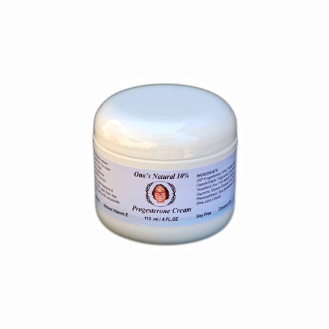 Progesterone Super Concentrated 10% Natural Cream - 113 ml Jar