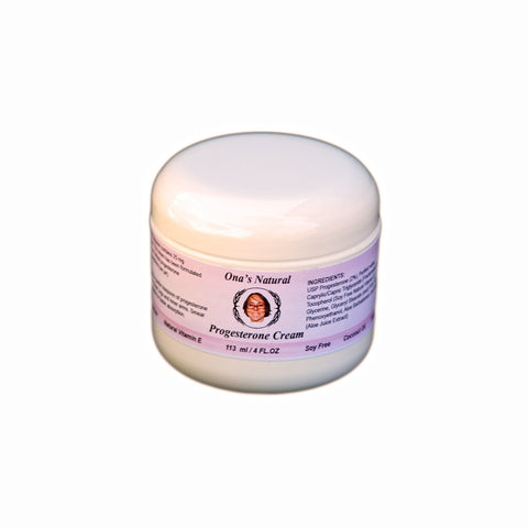 Progesterone Ona's 3% Natural Cream - 113 ml Jar