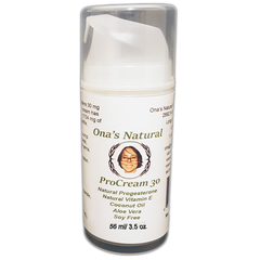 Ona's Natural ProCream 30, 99 ml pump - 3% Progesterone Cream